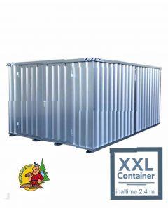 Combinaţie de containere demontabile Quick-Build înălţime 2,4 m.