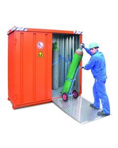 Containere pentru depozitare butelii de gaz Quick-Build