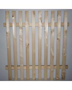 Poartă pentru gard din molid