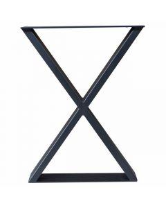 Picioare de masăindustriale din oțelpentru mese si bănci Profil X.