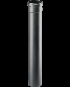 Ţeavă de evacuare fum,  Ø 80mm lungime 500mm